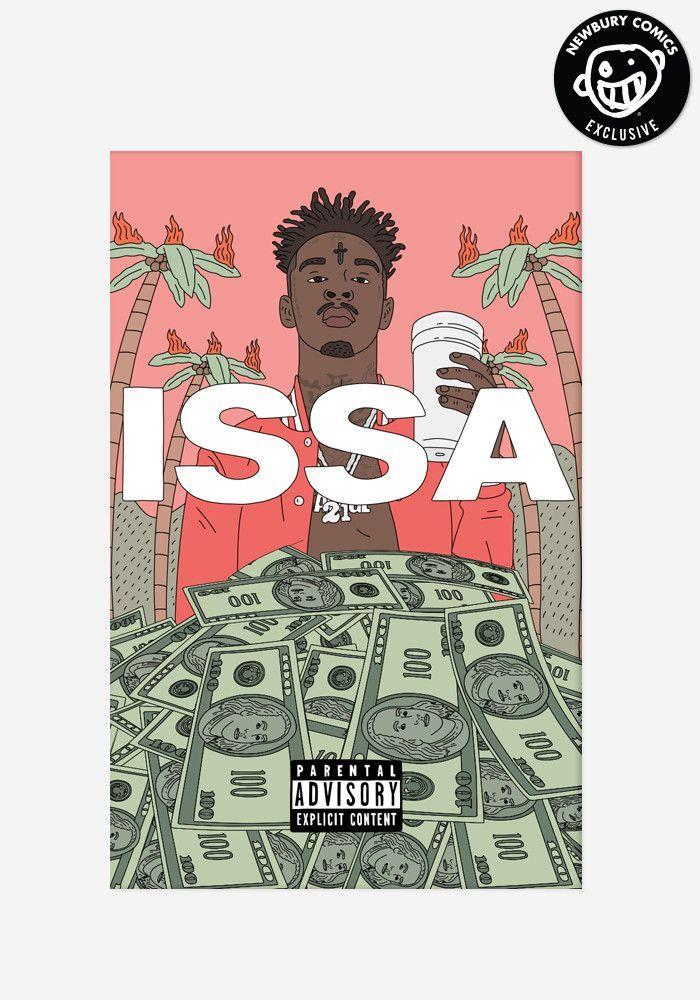 issa album exclusive cassette newbury comics 21 savage cassette pinterest