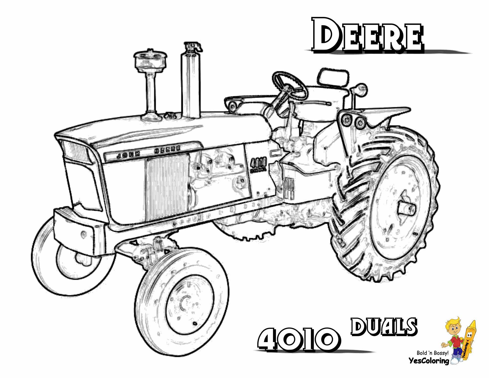 malvorlagen traktor john deere  amorphi