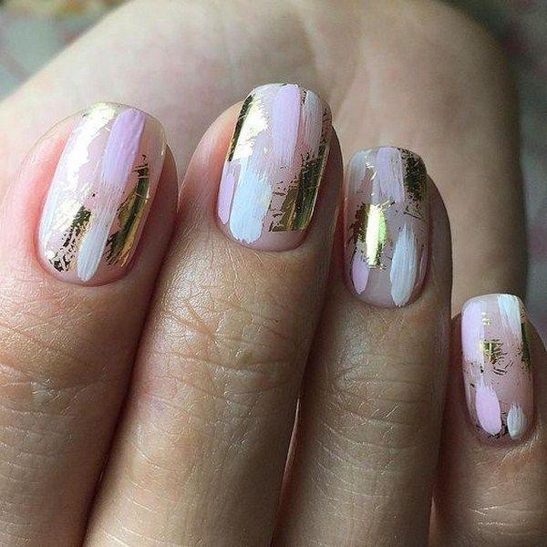 Ногти Шеллак Геометрия Фото