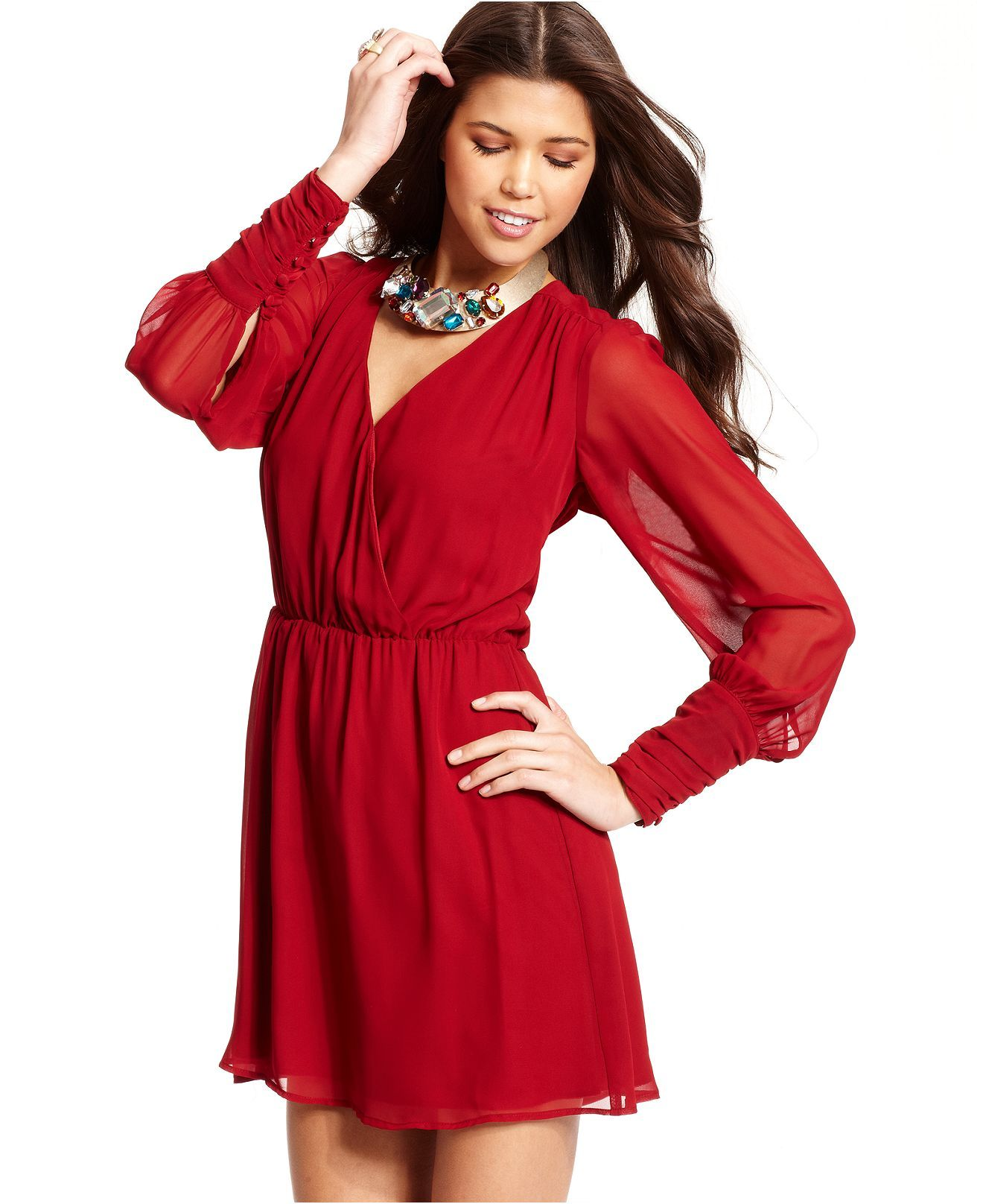 Cute Long Sleeve Dresses for Juniors