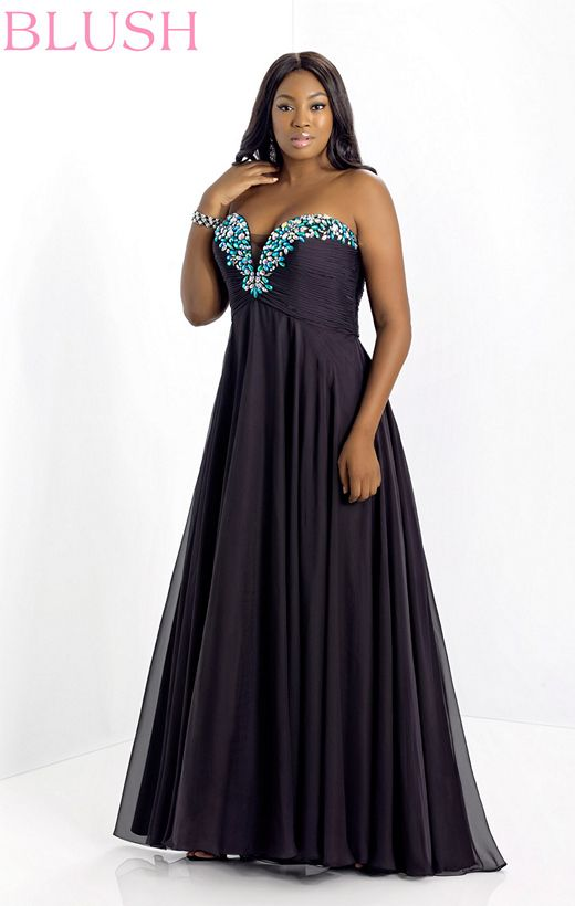2014 Plus Size Prom Dresses For A Curvy Figure 24 Pictures