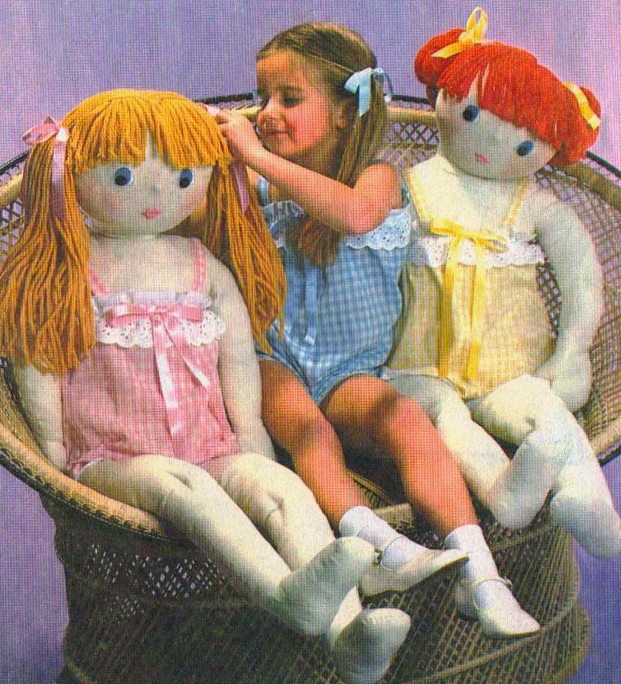 Original Doll-Baby  Easy Fashions To Sew  8 Outfits For Soft Sculpture Dolls