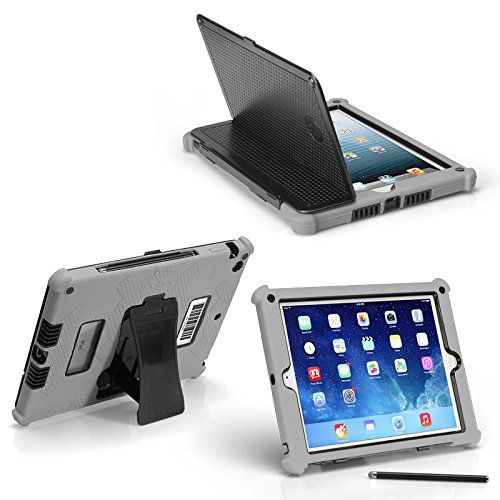 Ipad Air 2 Slim Tough Case G5 Rugged Protection With Built In Hard Cover And Stylus 22 00 With Images Case Ipad Mini Ipad
