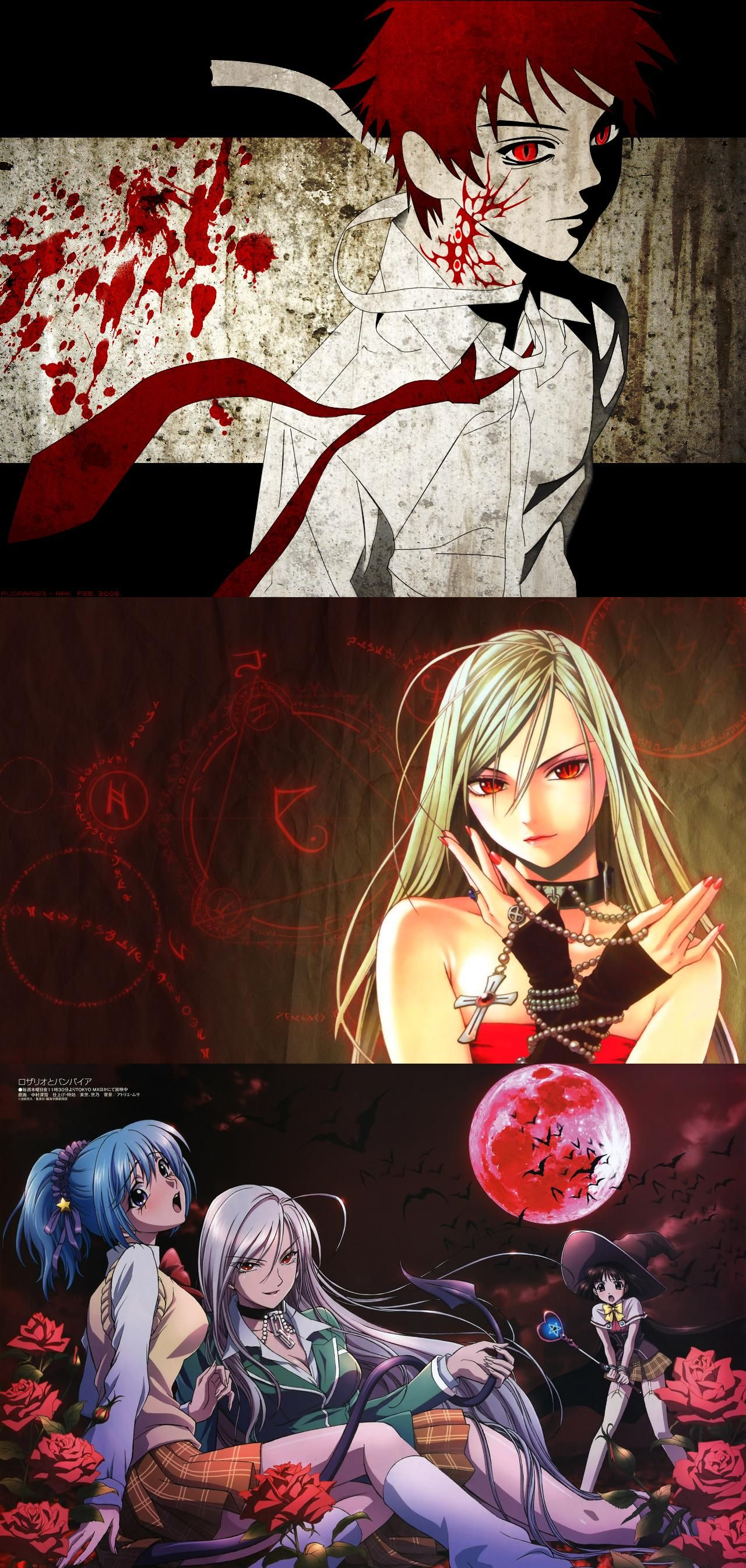 Rosario to Vampire Rosario vampire, Anime, Vampire