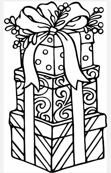 Presents Printable Christmas Coloring Pages Christmas Gift Coloring Pages Christmas Coloring Sheets