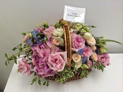 さとうあつこのハワイ不動産: 花田美恵子さんにお誕生日のお花いただきました♡