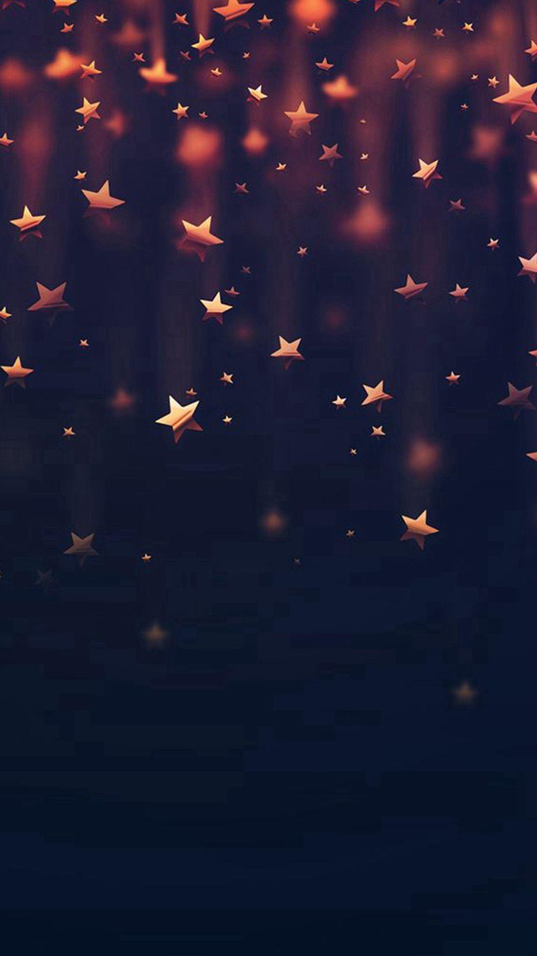 Ganz und zu Extrem Golden Falling Stars #iPhone #6 #wallpaper | iPhone 6~8 Wallpapers @SQ_37