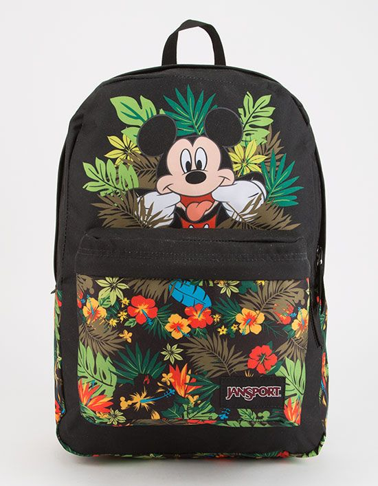 JANSPORT x DISNEY High Stakes Tropical Mickey Backpack  da3b938c220