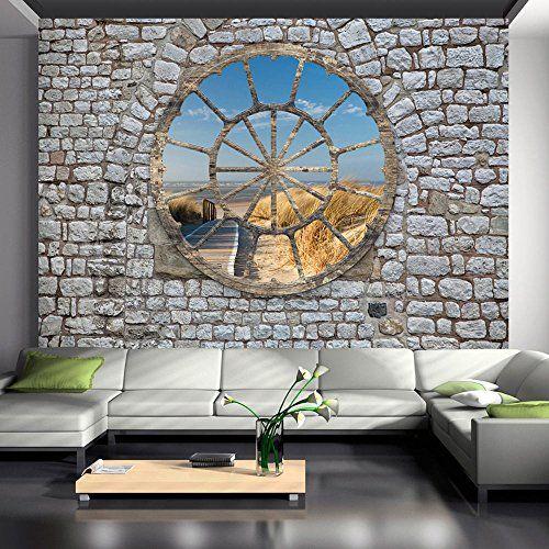 Vlies Fototapete 400x280 cm - 3 Farben zur Auswahl - Top - Tapete - wandgestaltung mit drei farben
