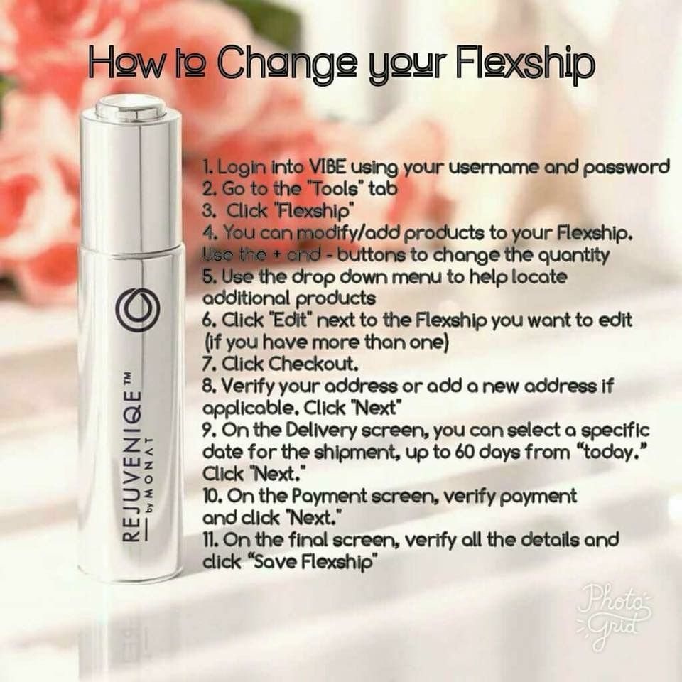 how to cancel monat flexship