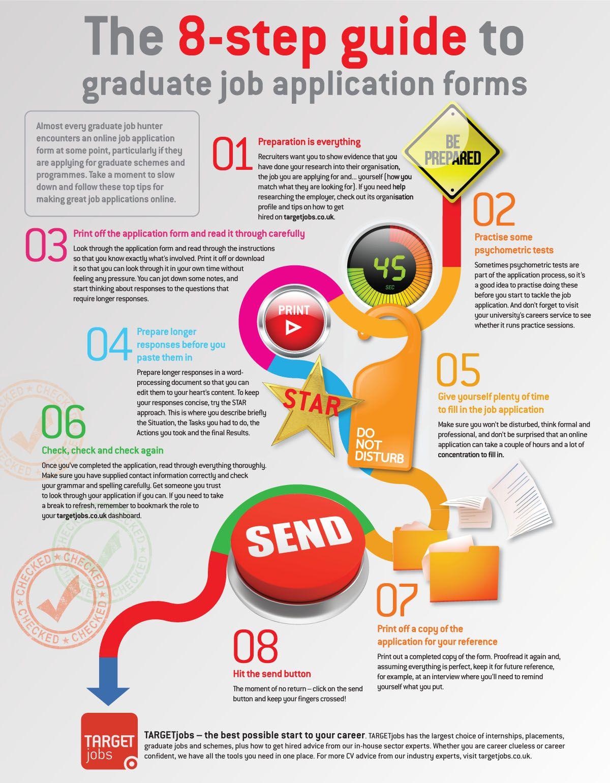The 8 step guide to graduate job application forms life tips the 8 step guide to graduate job application forms falaconquin