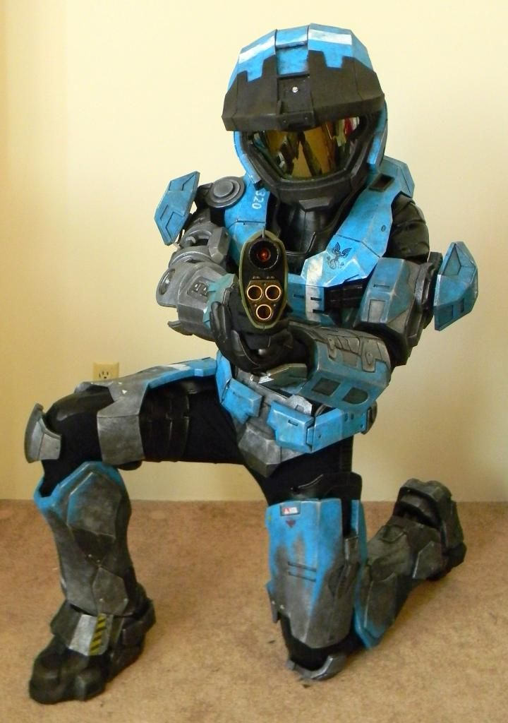 this might be the most incredible suit of halo armour ever created - Halloween Halo