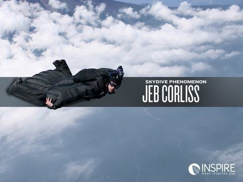 Jeb Corliss I Mpossible Inspirecontest Com Youtube Skydiving Base Jumping Wingsuit Flying