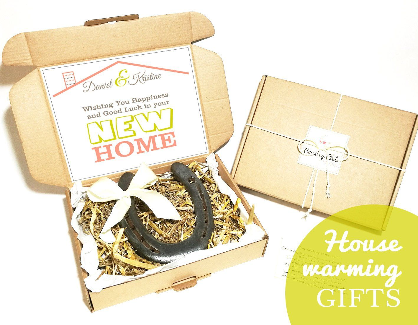 New Home Housewarming Gift - House warming Gift, New Homeowner ...