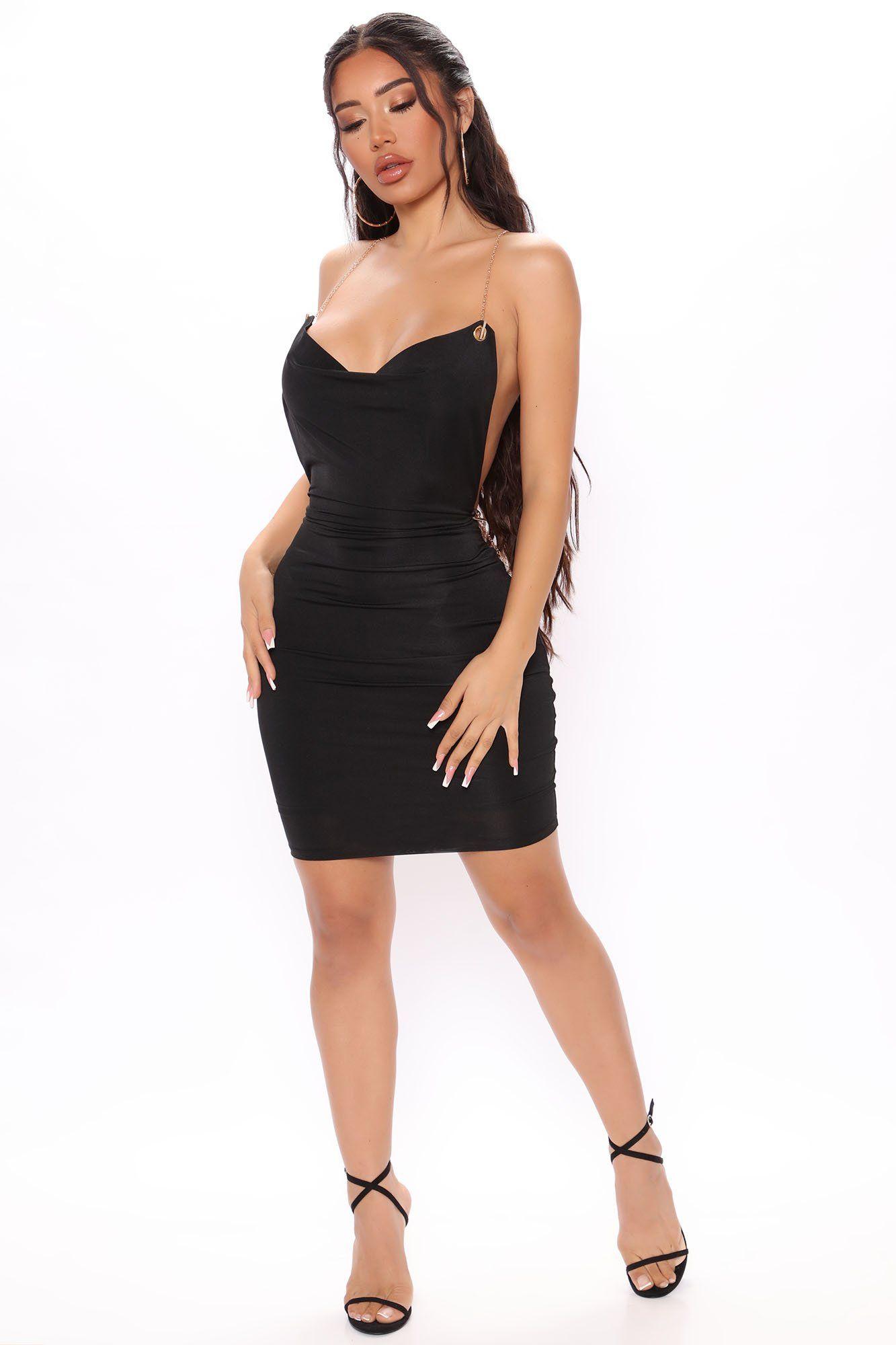 Don T Yank My Chain Mini Dress Black Mini Black Dress Womens Black Dress Mini Dress [ 2000 x 1333 Pixel ]