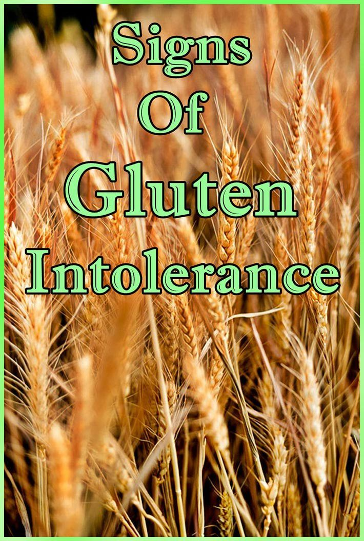 Signs Of Gluten Intolerance (With images) Signs of