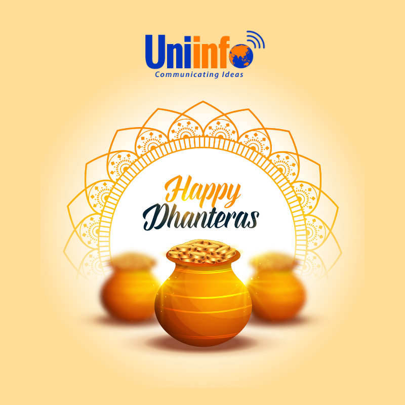 Uniinfo Telecom Service Happy Dhanteras Family Wishes Quick Meals