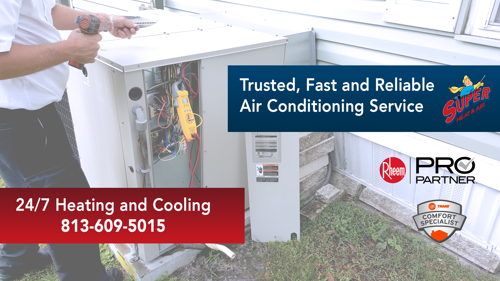 Contact Us Super Heat & Air Air conditioning services