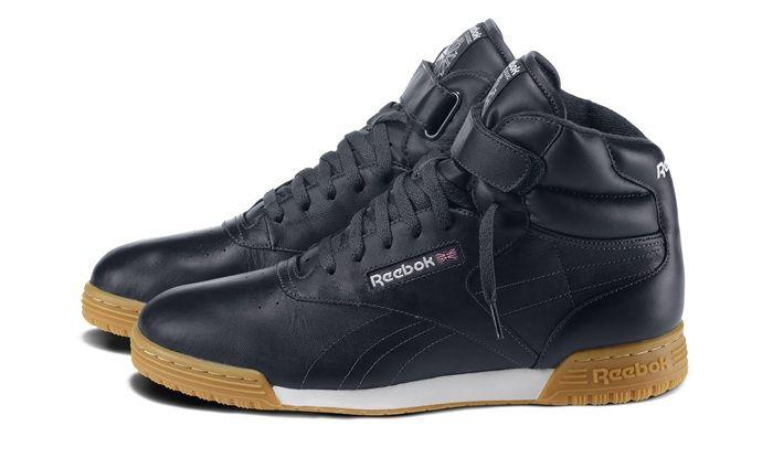 Navy Ex o Fit Hi Reebok | Sneaker | Reebok classic