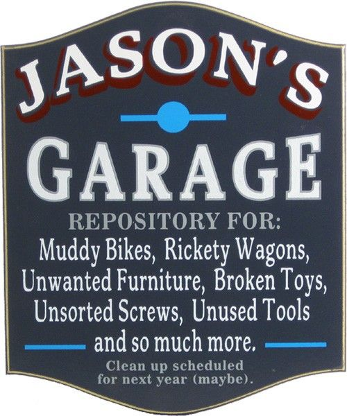 Man Cave Plaques Signs : Awesome man cave signs all gifts considered garage