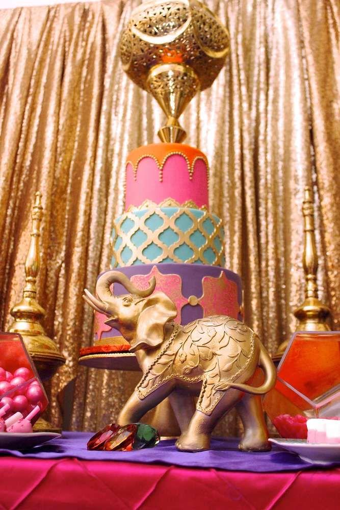 Moroccan Bridal Wedding Shower Party Ideas Arabian