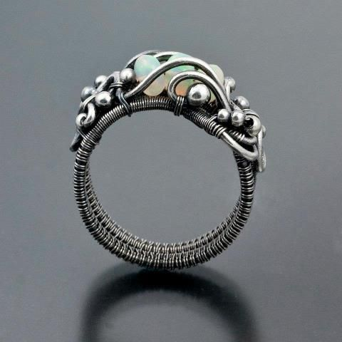 Sarah Thompson | Wire Wrapped Jewelry | Pinterest | Ringe ...