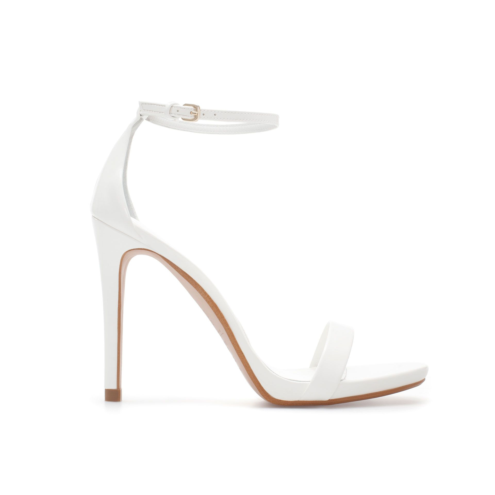 If I wasn't 5.9 | White strappy high heels, Strap sandals