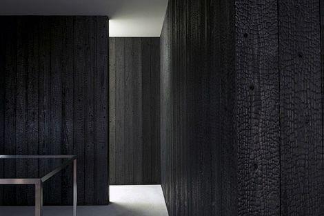 Best Eel Shop Designed By Toru Shimokawa Walls Of Charred 400 x 300