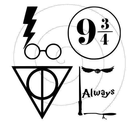 Download Harry Potter - L.O.V.E - SVG PNG- File Only | Harry potter ...