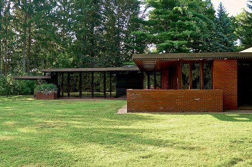 Weltzheimer Johnson House Oberlin Ohio Usonian House Frank