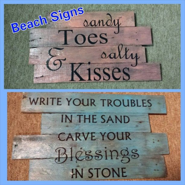 Beach Signs House Sign Wood Wooden Pool Outdoor Decor
