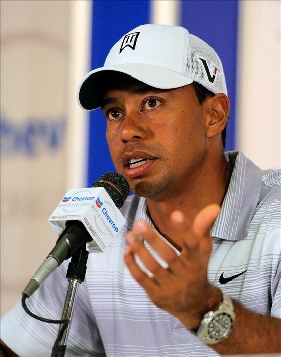 930a357261d Tiger Woods wearing his Rolex Sea-Dweller Deepsea