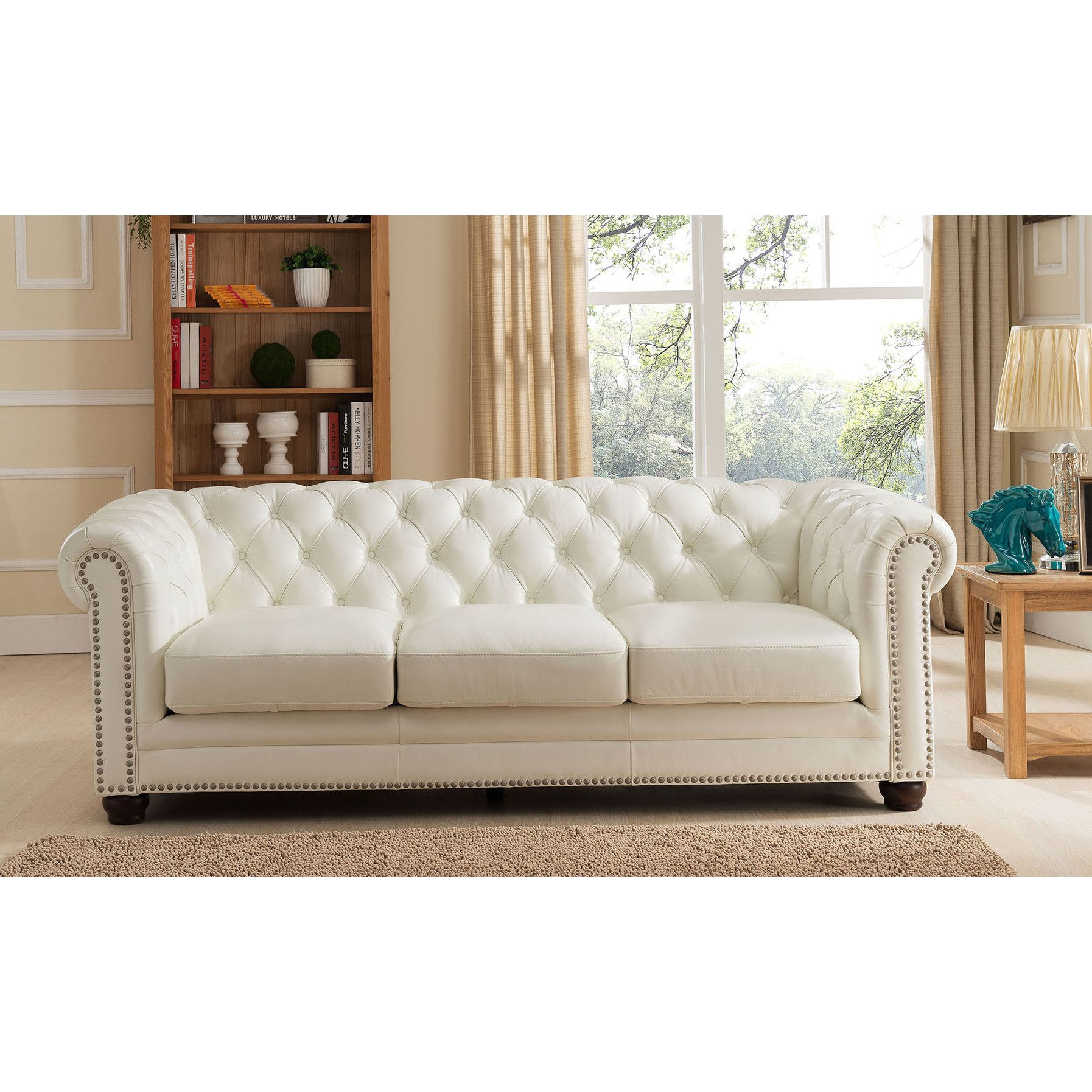 Delicieux Amax Nashville Leather Sofa