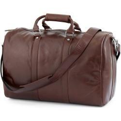 Photo of Brown thin Jasper Duffle Bag travel bag Lucleon