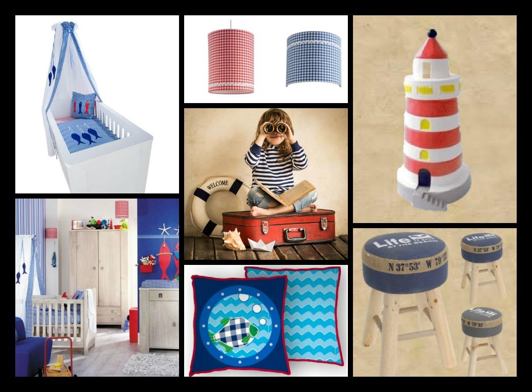 Maritieme Kinderkamer Kinderkamer Kleurenpalet Decoratie