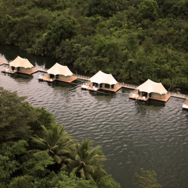 Check Out This Slideshow Overwater Bungalows: 4 Rivers