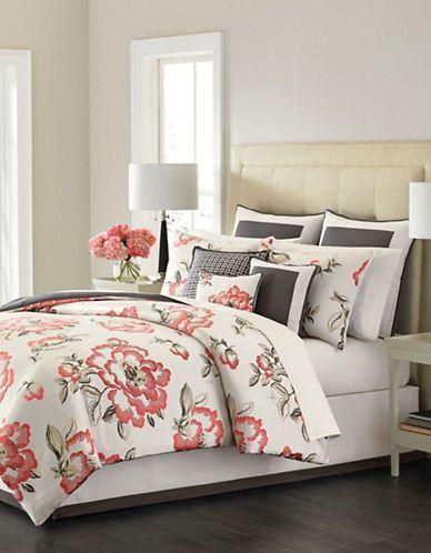 Home | Duvet Covers & Comforters | Peony Blossom Nine-Piece Comforter Set | Hudson's Bay