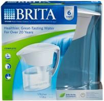 NEW IN BOX 6 CUPS Brita Atlantis Water Pitcher - Healthier,Great-Tasting Water - FREE SHIPPING