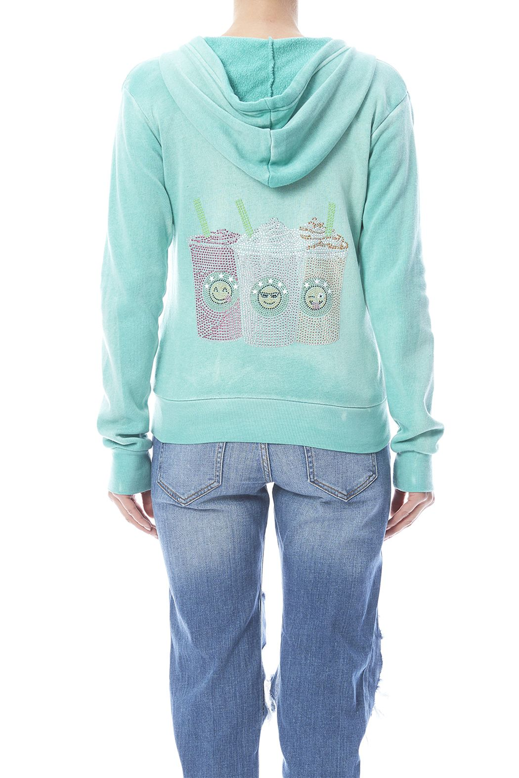 a68491dc7 Hoodie has front pockets. Cool Coffee Zip Hoodie by Butter Super Soft.  Clothing - Sweaters - Sweatshirts & Hoodies Long Island