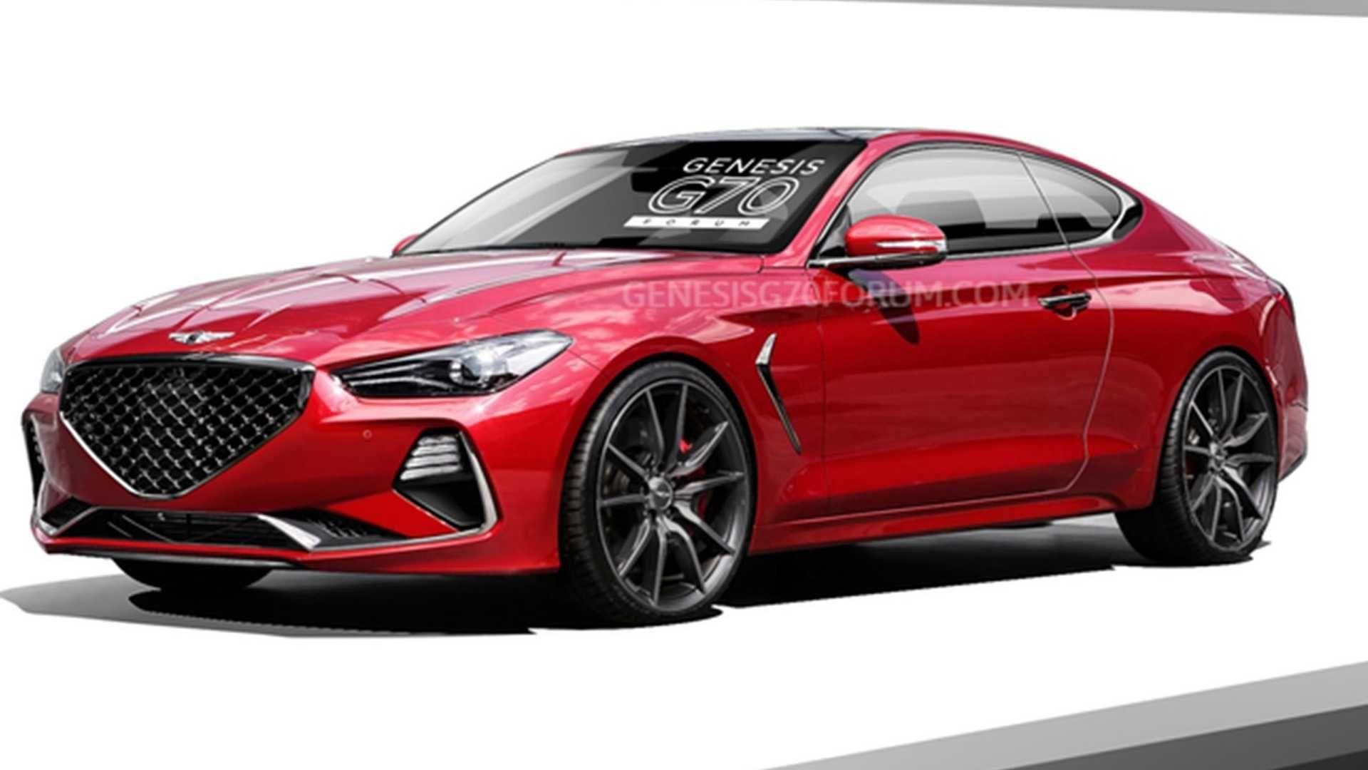 Genesis G70 Coupe (render)