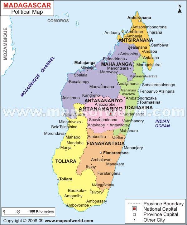 Endangered Plants of Madagascar | Map of madagascar, Map ...