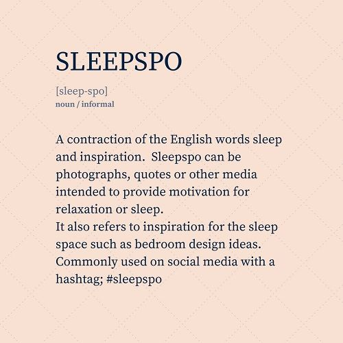 Define Sleepspo. Sleepspo Definition. What Does Sleepspo Mean? Sleepspo