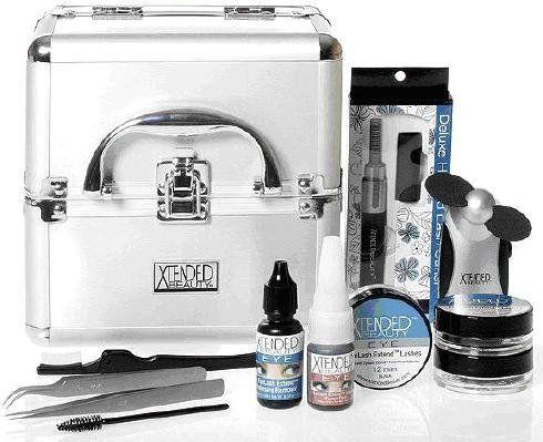reese robert beauty deluxe eyelash extend kit  read