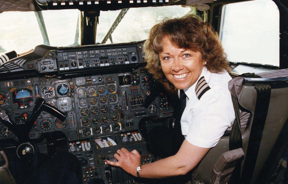 Barbara harmer first lady concorde pilot concorde