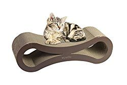 Jumbo Cat Scratching Cardboard Lounge Durable Reversible Pet