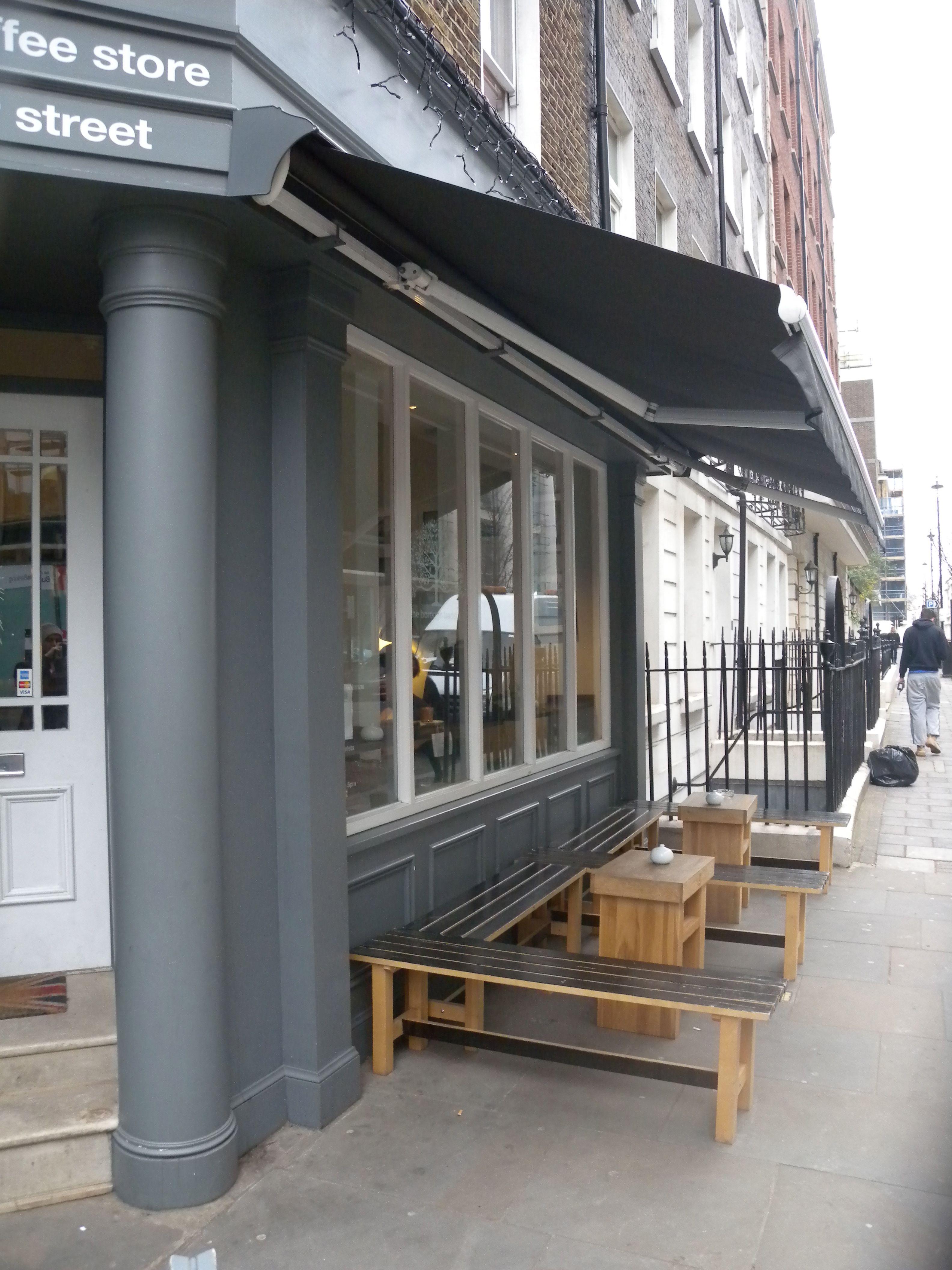Borough barista marlebone london cafe seating
