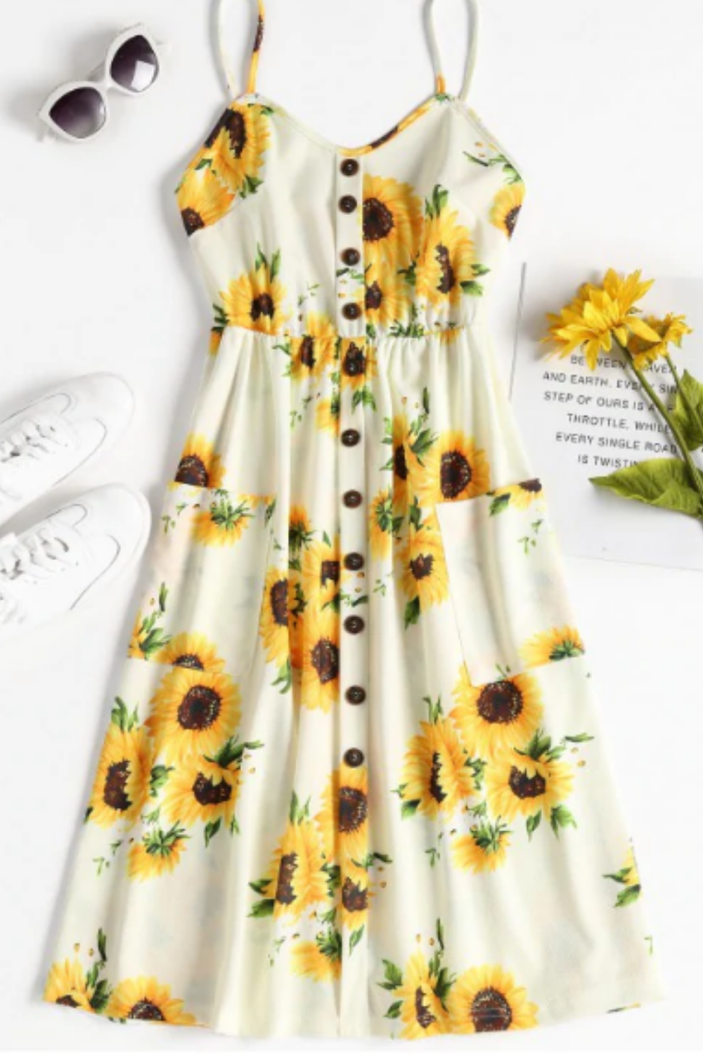 Pin On Sunflower Clothes Aesthetic Outfits [ 1500 x 1000 Pixel ]