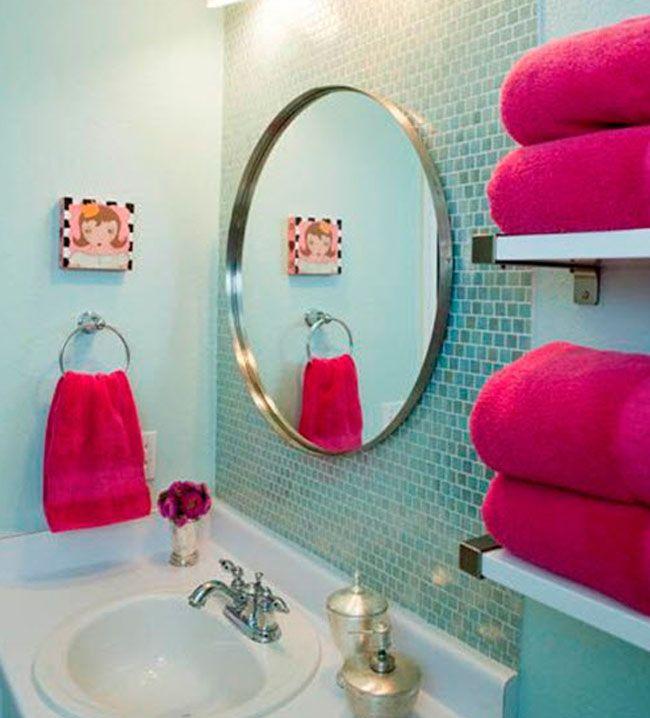 Outlet de ropa de casa   Decoracion de baños pequeños ...