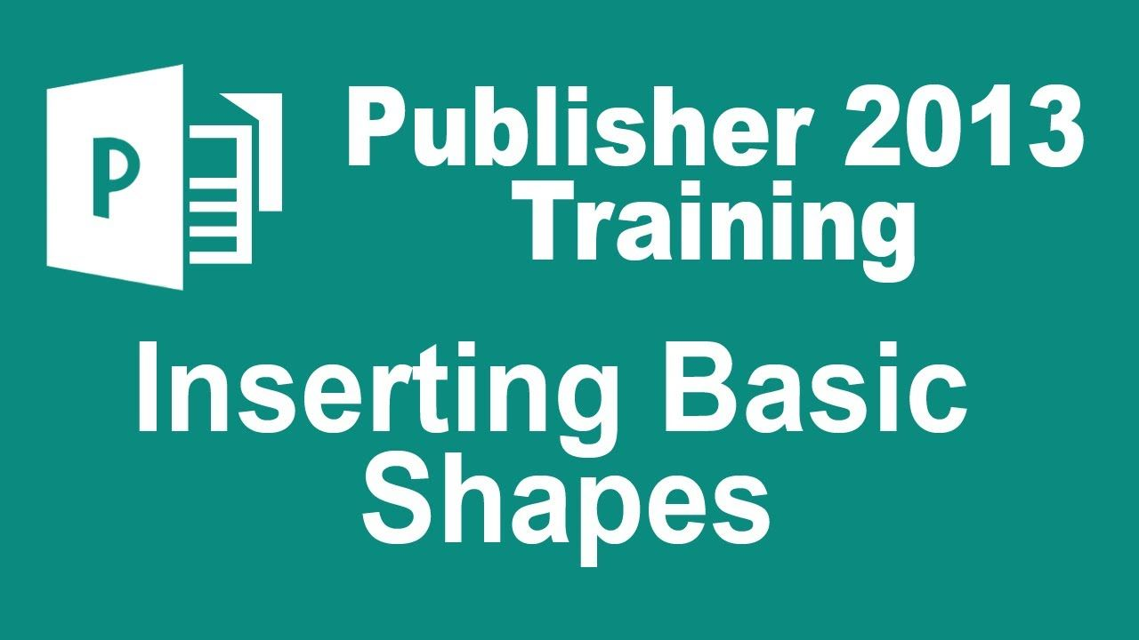 microsoft publisher 2013 tutorial