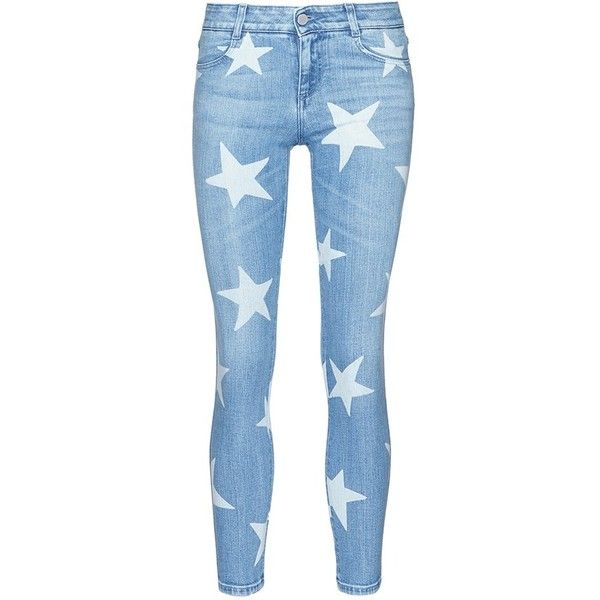 Buy Cheap Ebay patterned jeans - Blue Stella McCartney Discount Official Outlet Order Online Wide Range Of Online Get Authentic Cheap Price srKqP6
